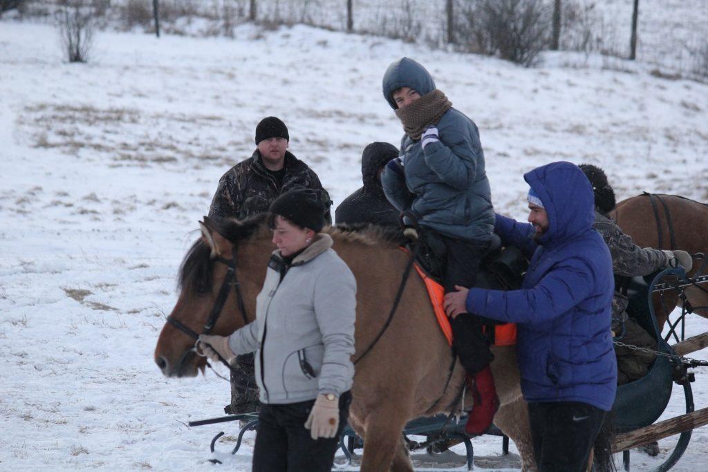 IIсмена «Зимний лагерь в Оленьем». 2-8 января 2016